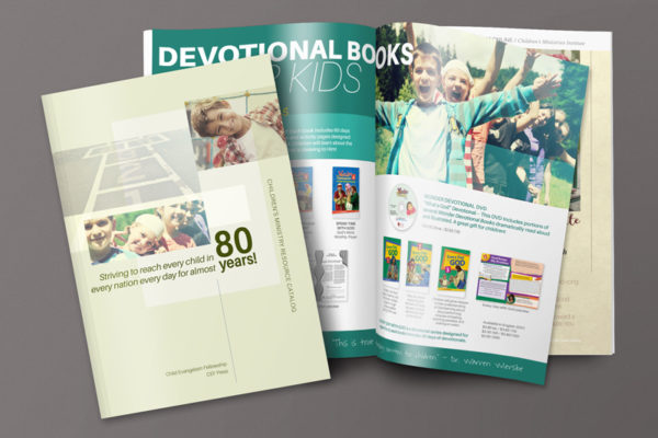CEF Catalog Cover & Ad Design